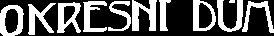 Hotel Okresní dům Logo